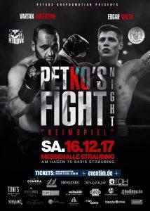 PETKO'S Fight Night am 16.12.2017