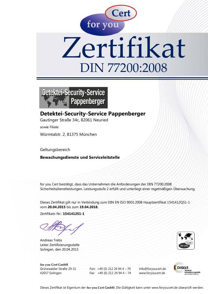 Detektei-Security-Service-Pappenberger – Unsere Erfahrung Ihr Erfolg!